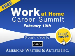 FREE VIRTUAL EVENT: Work-At-Home Career Summit, February 19th